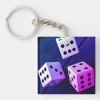 Dice 3D Keychain