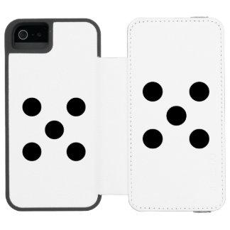 Dice 5 incipio watson™ iPhone 5 wallet case