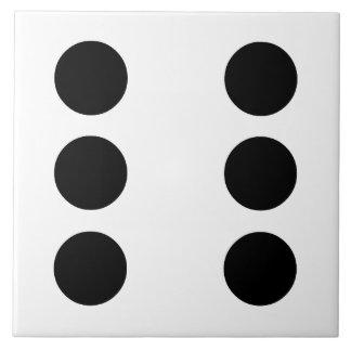 Dice 6 tiles