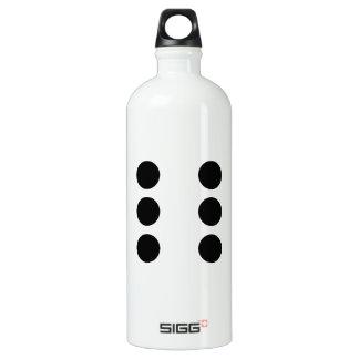 Dice 6 water bottle