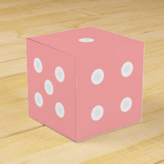 Dice Box for Favors/Gifts - Customizable Color