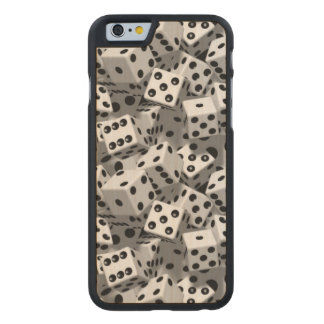 Dice Carved Maple iPhone 6 Case