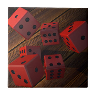 Dice Ceramic Tile