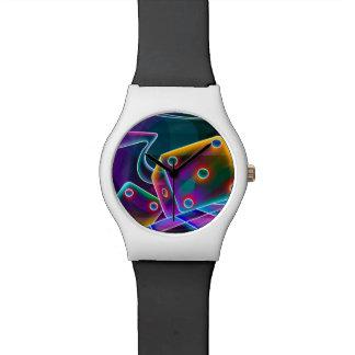 Dice flashy 3D Wrist Watch