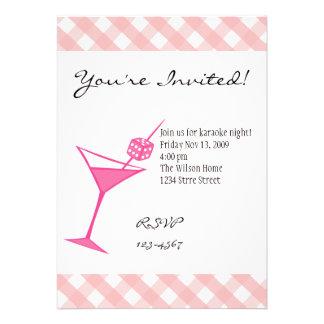 Dice Martini Four Invite