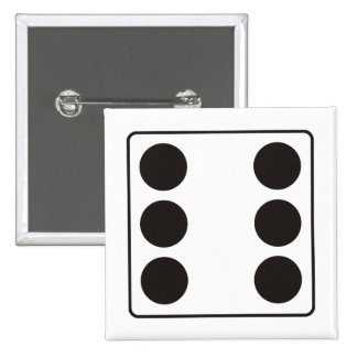 DICE numbers of pips 6 + your backgr. Button