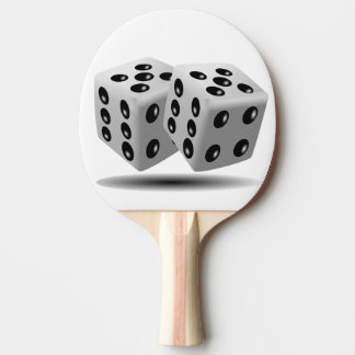 dice ping pong paddle