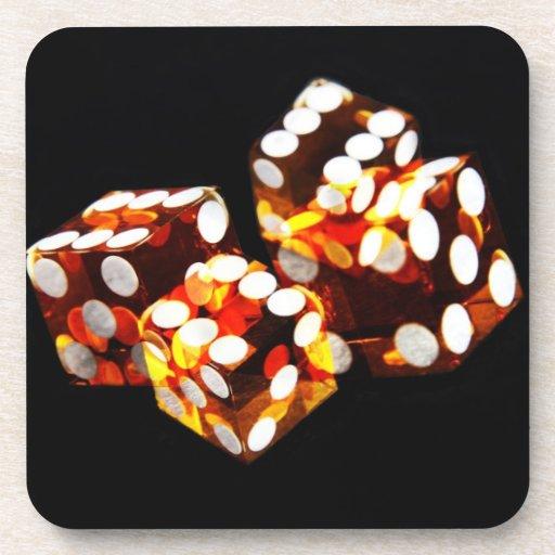 dice roll - coaster