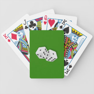 Dice Rolling Bicycle Playing Cards