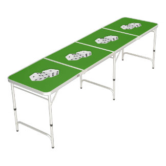 Dice Rolling Pong Table