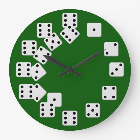 Dice Wall Clock