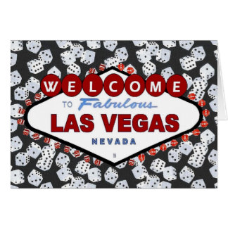 Dices are Loaded! Las Vegas Invitation Card
