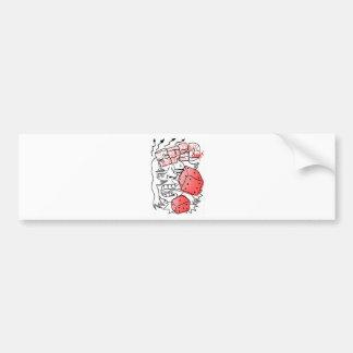 dices spid bumper sticker