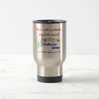 Dichroic Glass Travel Mug