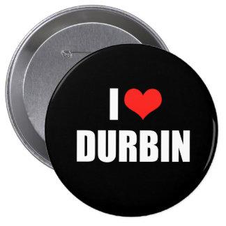 DICK DURBIN Election Gear 4 Inch Round Button