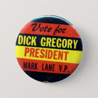 Dick Gregory - Button