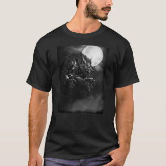 Dick Mummy: Howling Moon Werewolf T-Shirt