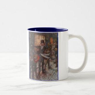 Dickens A Christmas Carol Children Two-Tone Coffee Mug