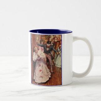 Dickens A Christmas Carol Party Games Two-Tone Coffee Mug