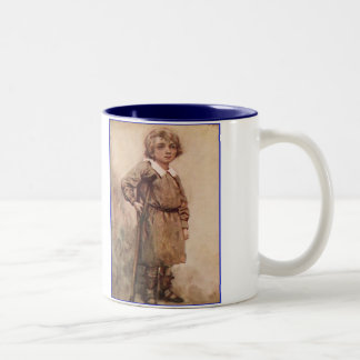 Dickens A Christmas Carol Tiny Tim Two-Tone Mug