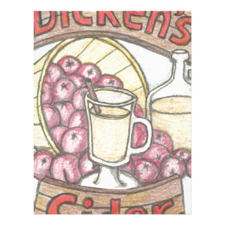 Dickens Cider nothing feels quite as good Letterhead