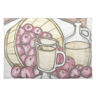 Dickens Cider nothing feels quite as good Placemat