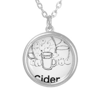 Dickens Cider Nothing feels quite as good Silver Plated Necklace