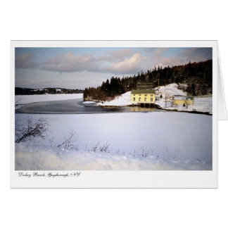 Dickey Brook Hydro Power Station - Greeting Card