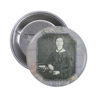 Dickinson Remixed 2 Inch Round Button