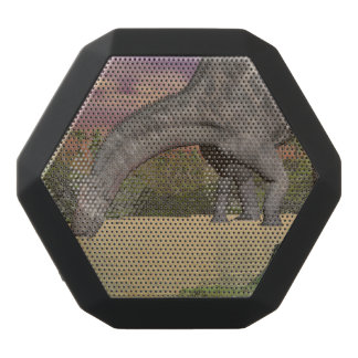 Dicraeosaurus dinosaur drinking - 3D render Black Bluetooth Speaker