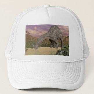 Dicraeosaurus dinosaur drinking - 3D render Trucker Hat