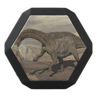 Dicraeosaurus dinosaur walking - 3D render Black Bluetooth Speaker