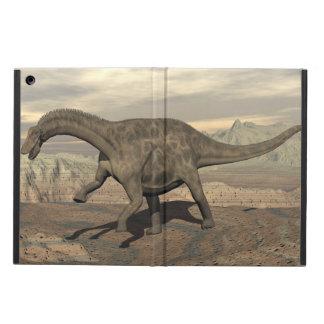 Dicraeosaurus dinosaur walking - 3D render iPad Air Case