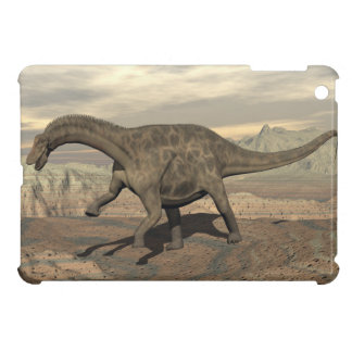 Dicraeosaurus dinosaur walking - 3D render iPad Mini Cover