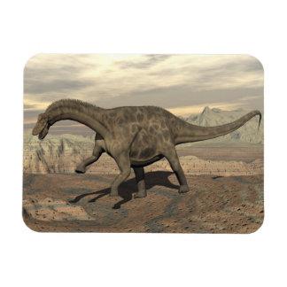 Dicraeosaurus dinosaur walking - 3D render Magnet