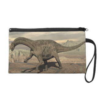 Dicraeosaurus dinosaur walking - 3D render Wristlet