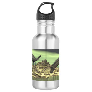 Dicraeosaurus dinosaurs - 3D render 532 Ml Water Bottle