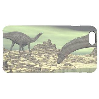 Dicraeosaurus dinosaurs - 3D render Clear iPhone 6 Plus Case