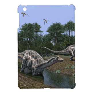 Dicraeosaurus Scene iPad Mini Cover