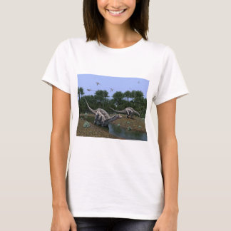 Dicraeosaurus Scene T-Shirt