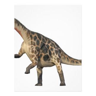 Dicraeosaurus Standing Letterhead