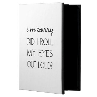 Did I Roll My Eyes Out Loud? Powis iPad Air 2 Case