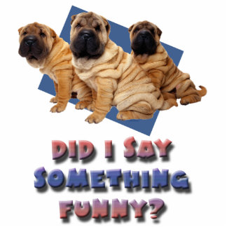 Did I say something funny Acrylic Cut Outs