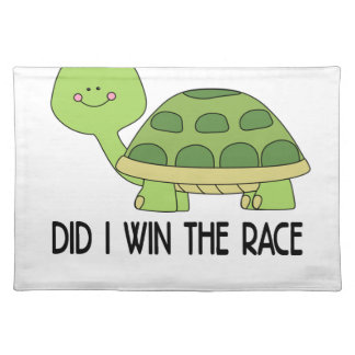Did I Win The Race.png Placemats