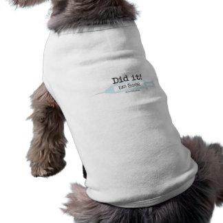 Did it RN 2012 Nurse Graduate Pet Tee