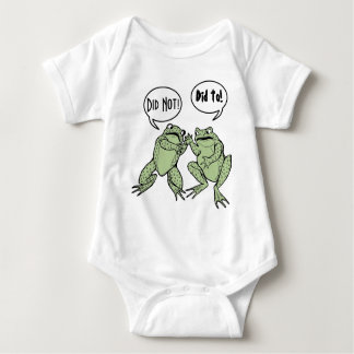Did Not, Did To! Baby Bodysuit