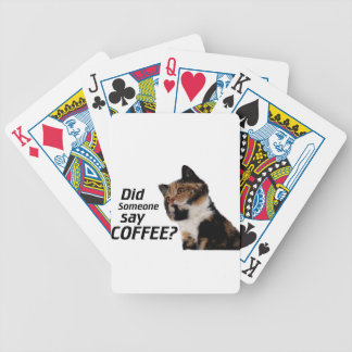 Did Someone say COFFEE? Bicycle Playing Cards
