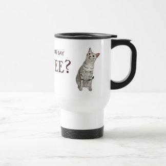 Did someone say coffee? Cat mug
