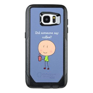 Did someone say coffee-Samsung Galaxy S7 Edge OtterBox Samsung Galaxy S7 Edge Case