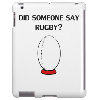 Did Someone Say Rugby?